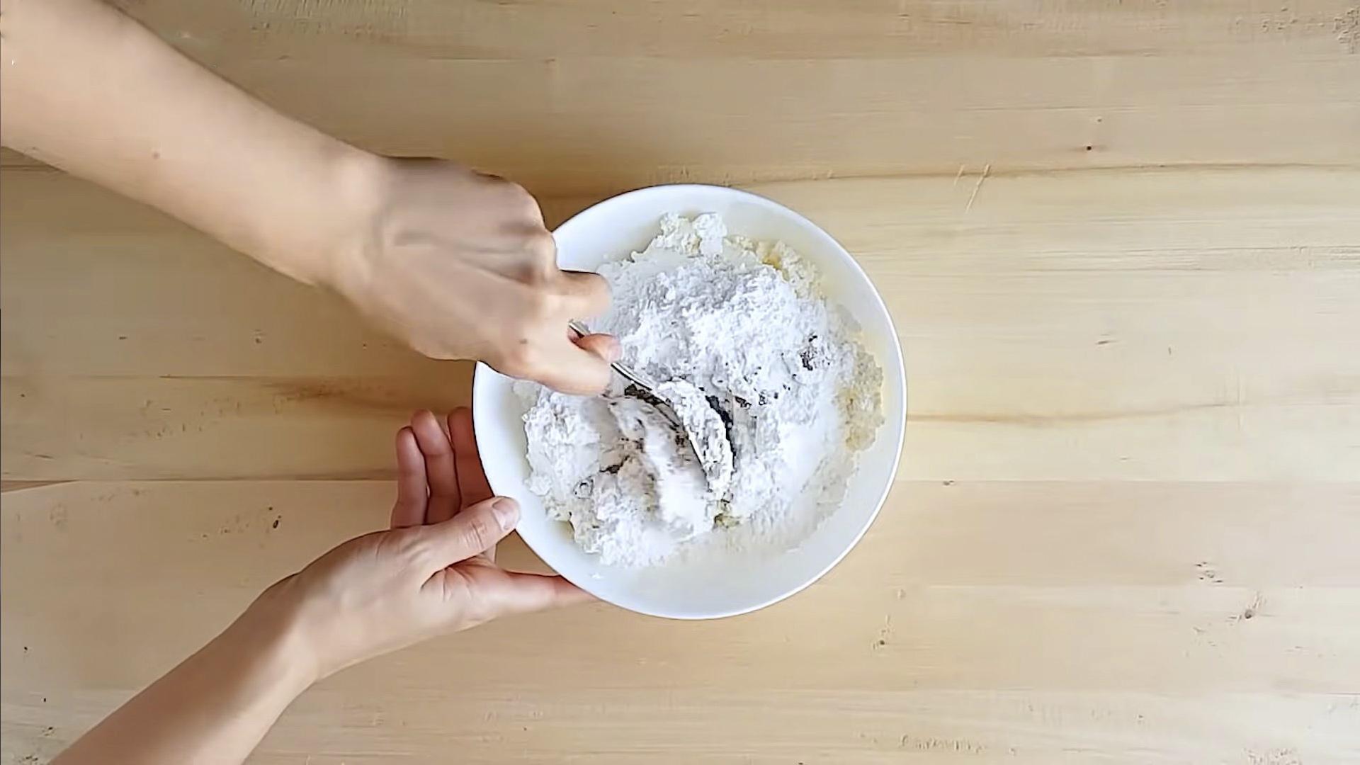 Рецепт - Творожный крем для эклеров - шаг 3