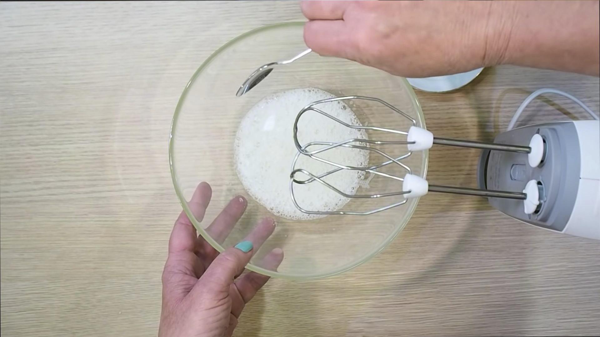Рецепт - Белково-заварной крем — шаг 5