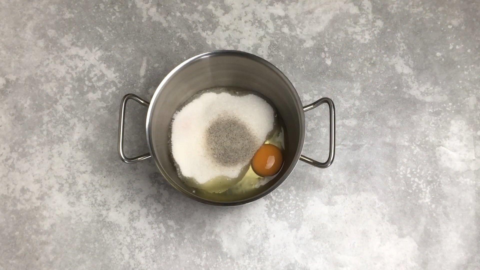 Рецепт - Заварной крем на молоке - шаг 3