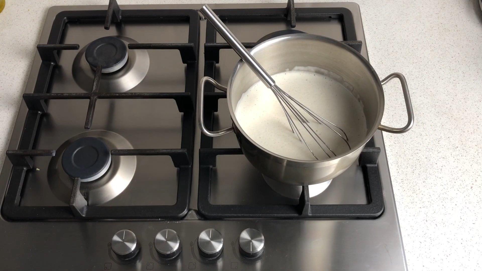Рецепт - Заварной крем на молоке - шаг 6