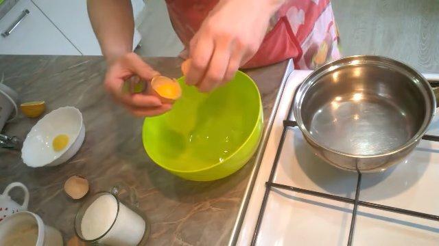 Рецепт - Белковый крем для вафельных трубочек - шаг 1