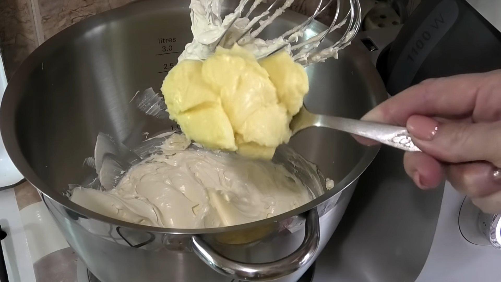 Рецепт - Сметанный крем для эклеров - шаг 9