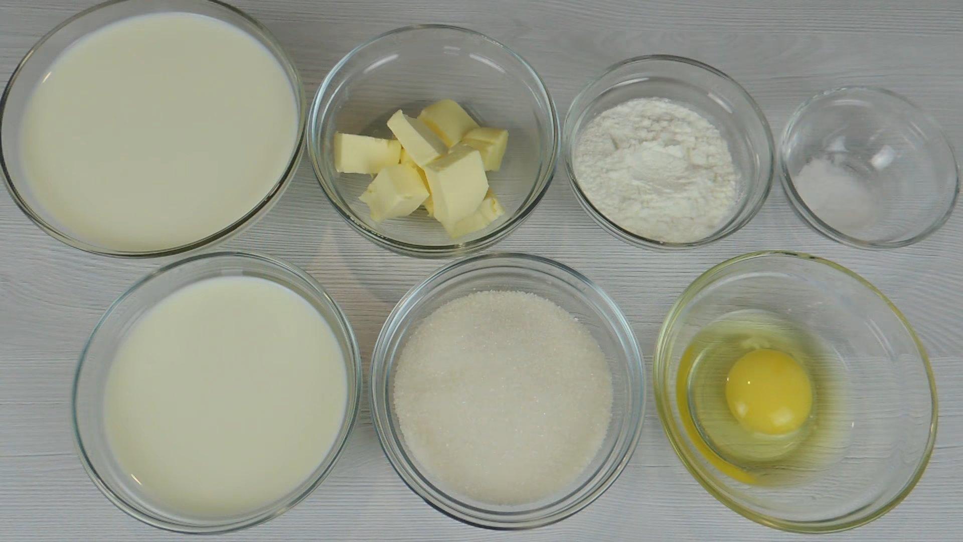 Рецепт - Заварной крем со сливками для бисквитного торта - шаг 1