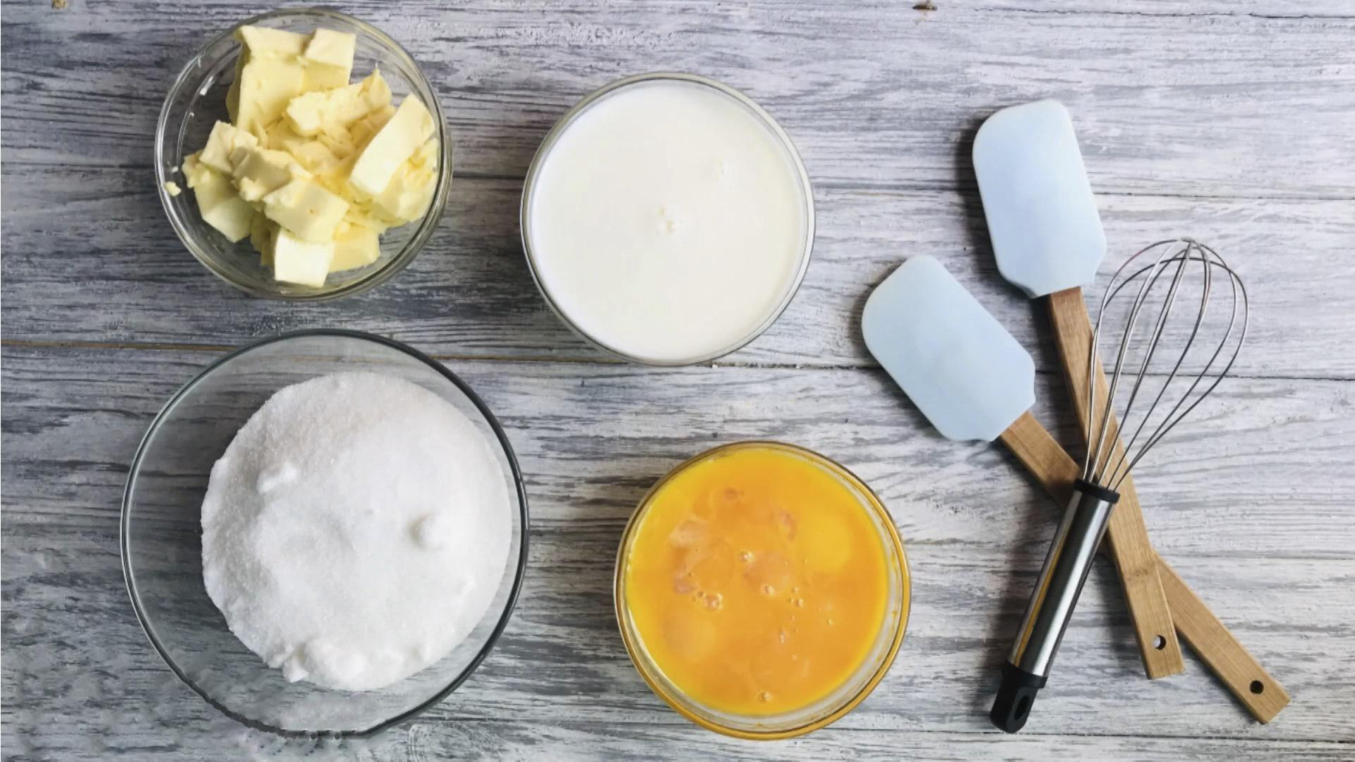 Рецепт - Заварной крем на желтках - шаг 1
