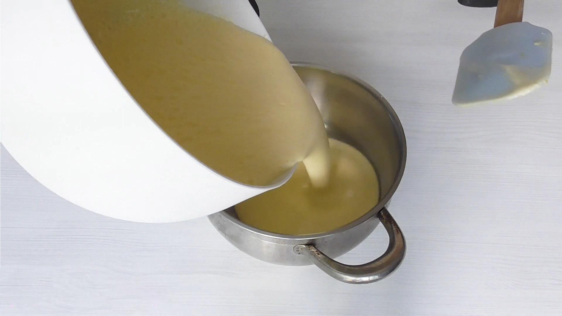 Рецепт - Заварной крем на желтках - шаг 5