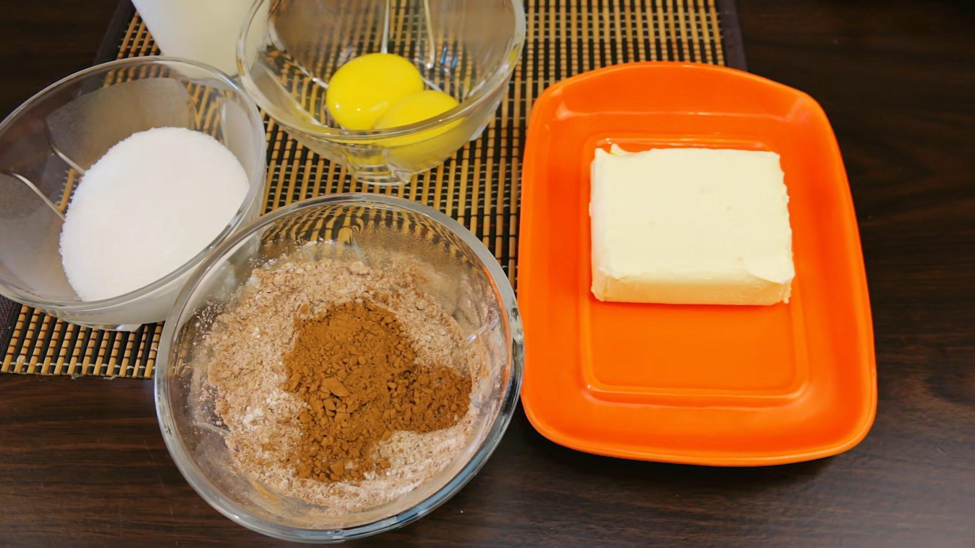 Рецепт - Шоколадный заварной крем - шаг 1